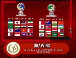BREAKING NEWS, AFC Rilis Drawing Piala Asia U-16 & U-19 di Malaysia