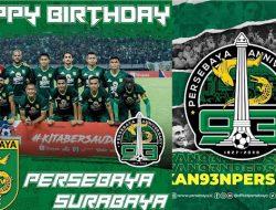 HBD PERSEBAYA !! Semoga makin Sukses Dipersepak Bolaan Indonesia