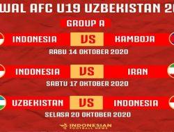 Jadwal Timnas U-19 Indonesia di Piala Asia U-19 2020, Baca Selengkapnya
