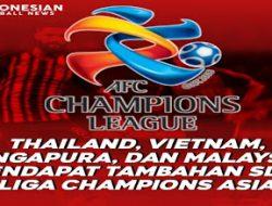 AFC Ubah Format Liga Champion Asia, Namun Sayang Klub Indonesia Masih Tak layak Ikut Serta