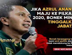 Maju ke Pilkada Surabaya, Bonek Minta Azrul Ananda Tinggalkan Jabatannya di Persebaya