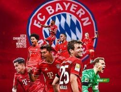 Bayern Munchen Juara Liga Champion Setelah Bungkam PSG dengan Skor Tipis 1-0