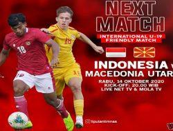 Timnas U-19 Indonesia vs Makedonia Utara, Mampukah Garuda Muda Kembali Menang?