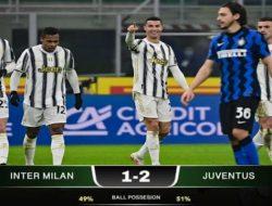 Cristiano Ronaldo On fire, Juventus Lumat Inter Milan dikandang