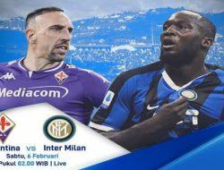 Prediksi Fiorentina vs Inter Milan 6 Februari 2021 Pukul 02.45 WIB