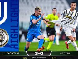 Juventus Gilas Spezia, Cristiano Ronaldo Catatkan Rekor Langka