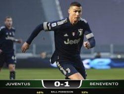 Bermain di Allianz Stadium, Juventus di Bungkam Benevento 0-1