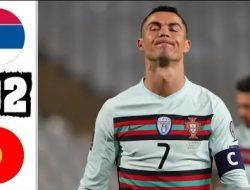 Portugal Ditahan Imbang Serbia, Cristiano Ronaldo Marah Besar Golnya Tak disahkan Wasit Malah Dikartu Kuning