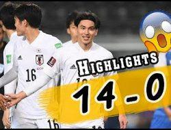 Ngamuk, Jepang Hajar Mongolia 14 Gol Tanpa Balas, Tonton Highlightnya