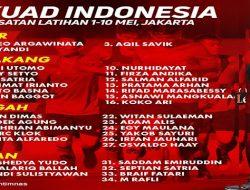 Resmi! PSSI Rilis 34 Nama Pemain Untuk Mengikuti TC Jelang Kualifikasi Piala Dunia 2022