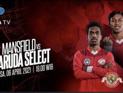Pembatasan Kegiatan Dicabut Pemerintah Inggris, Garuda Select III Siap Jajal Kekuatan Mansfield Town U-18