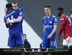 Manchester United Kalah dari Leicester City di Old Trafford, Manchester City Resmi Juara Premier League