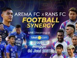 Arema FC Akan Gelar Uji Coba Lawan Rans Cilegon FC