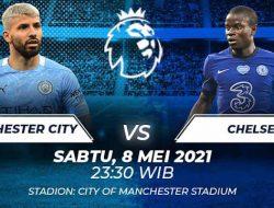 Premier League: Manchester City vs Chelsea, Simulasi Final Liga Champions