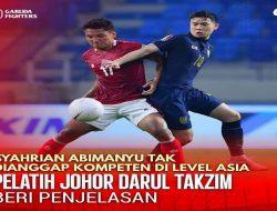 Dianggap Tak Kompeten Di Level Asia, Syahrian Abimanyu Tak Didaftarkan Di Liga Champions