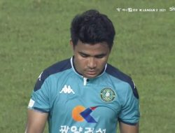 Asnawi Gagal Penalti, Ansan Greeners Tumbang Dikandang Sendiri