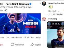 Messi Gabung PSG, Pep Guardiola Sebut Karena Uang?