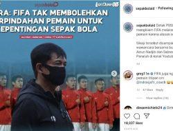Tanggapi Indra Sjafri, Greg Nwokolo: FIFA Juga Ngak Boleh Ada Pemain Titipan Om