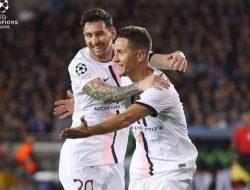 Diperkuat Trio Messi Neymar dan Mbappe, PSG Gagal Kalahkan Brugge
