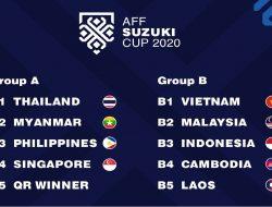 Resmi, AFF Tempatkan Indonesia Berada di Grup B