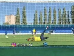 Baru Diresmikan FK Senica, Egy Maulana Vikri Langsung Cetak Gol Keren Saat Latihan