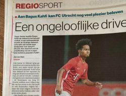 Sukses Cetak Dua Gol, Media Belanda: Bagus Kahfi Buat FC Utrecht Semakin Berwarna