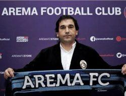 Tiga Pertandingan Bersama Arema Tak Pernah Menang, Eduardo Almeida: Salahkan Saya Saja