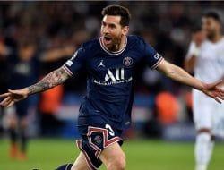 Messi Cetak Gol, PSG Taklukkan  Manchester City dengan Skor 2-0