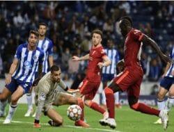 Hasil Liga Champions: Liverpool Bantai Porto di Kandang