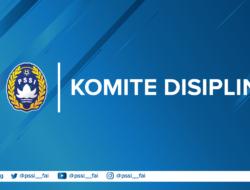 Komdis PSSI Resmi Jatuhkan Hukuman dari Klub Hingga Pemain