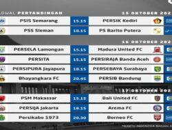 Liga Terbaik Dunia Is Back. Berikut Jadwal Liga 1 Seri Kedua