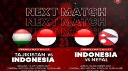 Selain Tajikistan, Timnas U-23 Indonesia Akan Jajal Kekuatan Nepal
