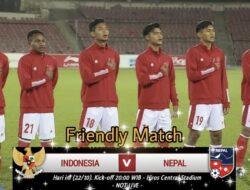 Prediksi Timnas U-23 Indonesia vs Nepal U-23: Garuda Targetkan Kemenangan