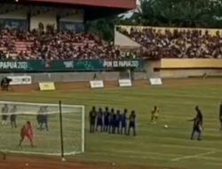 Bak Genzo Wakabayashi, Kiper Pon Papua Cetak Gol Spectacular Lewat Tendangan Bebas