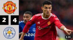 Hasil Liga Inggris: Leicester City Tekuk Manchester United dengan Skor 4-2